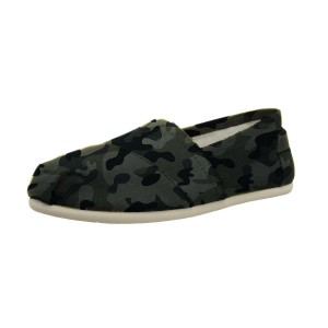 Camouflage Comfortable Flats Slip-on Canvas for Female