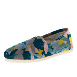 Cute Rabbits Printed Slip-On