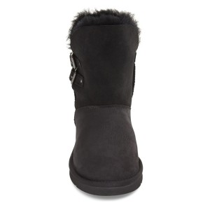 Black Comfortable Shoes Mid-calf Winter Snow Fur Boots
