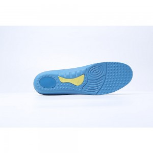 Black and Blue Comfortable Insoles
