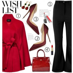 Burgundy Heels Pointy Toe Stiletto Heel Satin D'orsay Pumps