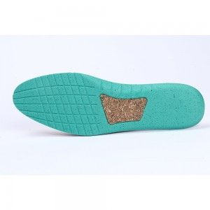 Green Wood Grain Shoes Insoles