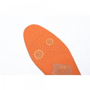 Orange and White Comfortable Insoles