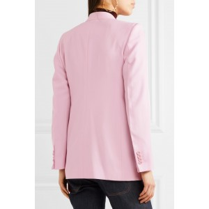 Spring '18 Pink Wool Blazer for Women