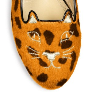 Leopard Print Flats Suede Cute Comfortable Shoes