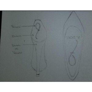 Custom Made Stiletto Heel Pumps