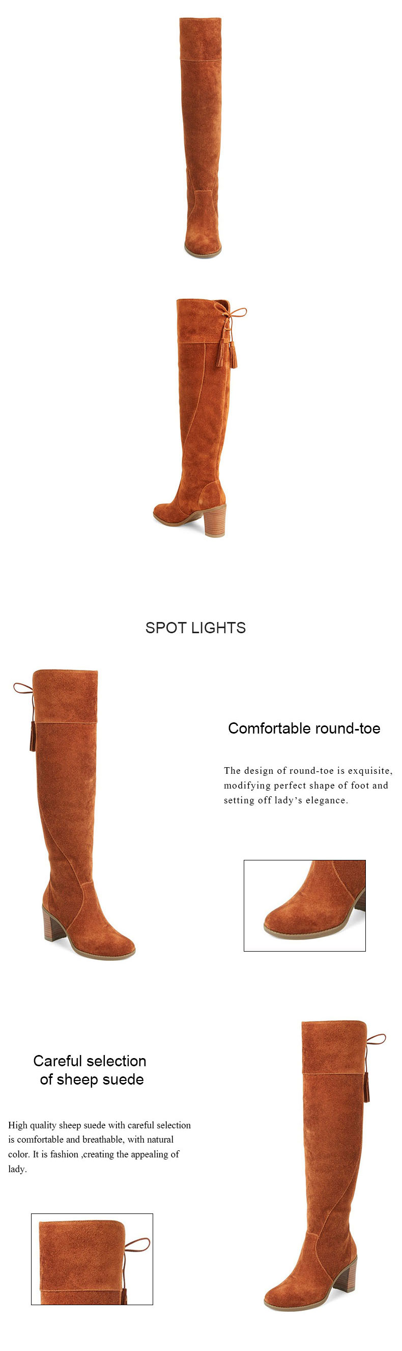 color src moda buckle leather s calf knee women p select strap boots mid com comforter kitten comfortable top prod high pu