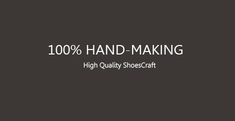 hand making shoes