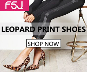 FSJ Leopard/Cheetah Print Shoes